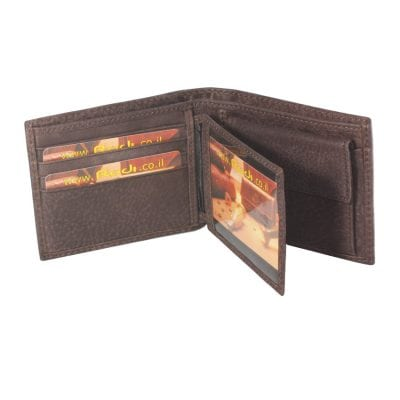 Men's leather wallets Highest quality item 1604043 the leather made in Italy