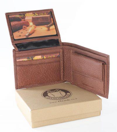 מתנה לאהוב ארנק מעור איטלקי איכותי בגודל בינוני מעור אפריקה | דגם 9041-N3