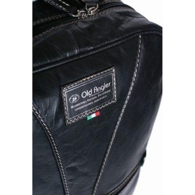 תיקי גב מעור אמיתי איטלקי כולל רצועה עילית, עור בופאלו איכותי קל משקל במיוחד כולל תא מרופד ללפטופ דגם 4057