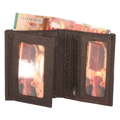 item no' 10105 men's small leather wallet