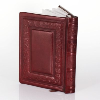 Book of Psalms Leather Jewish prayer book item no' 333 – (we can emboss max 3 words)