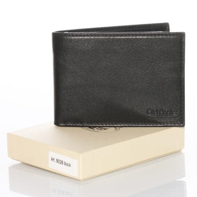 Cowhide leather bifold wallet – item 8028