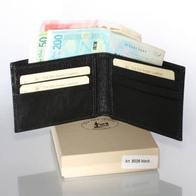 The slimmest wallet made in Italy Full Grain Leather 8026