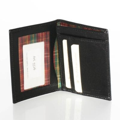 ארנק דק לתעודת זהות, מסמכים, כרטיסי אשראי ותעודות. תוצרת איטליה. דגם 8526
