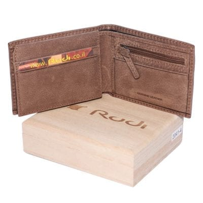 20414 Small wallet (100% genuine Italian leather)