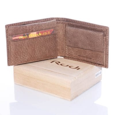 90414 Beautiful leather wallet for men 100% genuine Italian leather