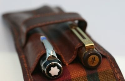 leather case pens made in Italy 5079