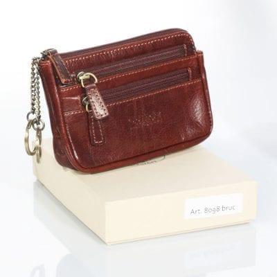 תיק למפתחות ומסמכים תוצרת איטליה מעור אמיתי מהמשובחים בעולם – 8098 נרתיק עור, בארנק זה לא ניתן לבצע הטבעות