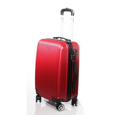 מזוודה חכמה לעלייה למטוס RUDI 770 צבע בורדו