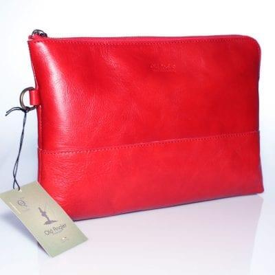 תיק קלאץ' לנשים מעור ברידג' איכותי תוצרת איטליה דגם 4107
