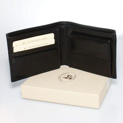 מתנה מיוחדת לגבר – ארנק גבר, כיס בינוני, תוצרת איטליה – עור ברידג'. דגם F8004.