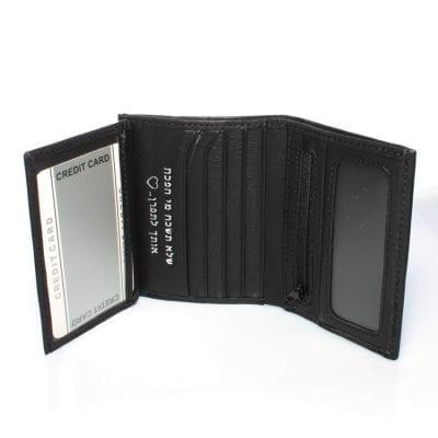 הארנק הקטן בעולם 100% עור אמיתי, שביט ניתן להטביע עד 2 שורות