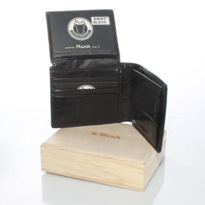 דגם מרקורי פרימיום | ארנק מעור איטלקי שחור | מתנות לגבר