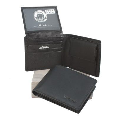 דגם רודי יוניק | ארנק קטן לגבר מעור נאפה איטלקי שחור | מתנות לגבר (תקן RU2) ** משלוח חינם