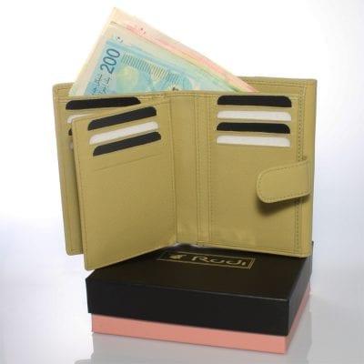 דגם מרלין, ארנק קטן לנשים מעור נאפה איטלקי אמיתי