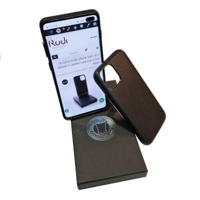 כיסוי מגן לאייפון מעור איטלקי אמיתי ברמה הכי גבוהה שיש Iphone 11PRO leather case – Apple במוצר זה ניתן להטביע 2 מילים בלבד!!