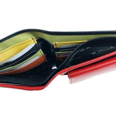 דגם מנהטן | ארנק מעור נאפה איטלקי ארנק יוניסקס
