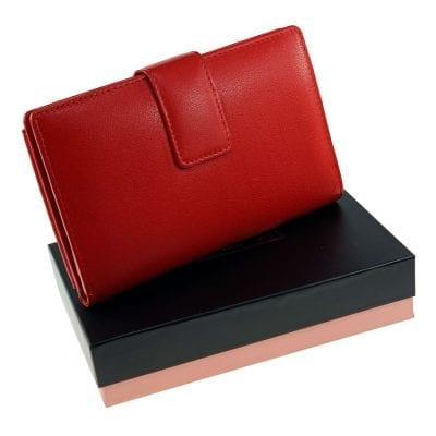 וגאס, ארנק כולל תא שמתאים לכל סוגי הטלפונים, פספורט, שטרות, כרטיסי אשראי וכו.. מעור נאפה איטלקי אמיתי אדום