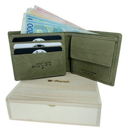 חריטה בארנק